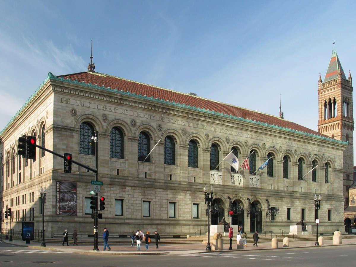 Bibliotheque publique de Boston